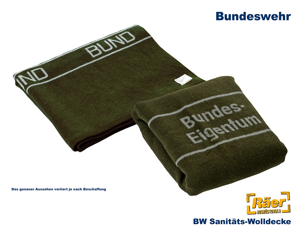 bw wolldecke sanit tsdienst 210 x 200 cm a b bundeswehr shop r er hildesheim. Black Bedroom Furniture Sets. Home Design Ideas