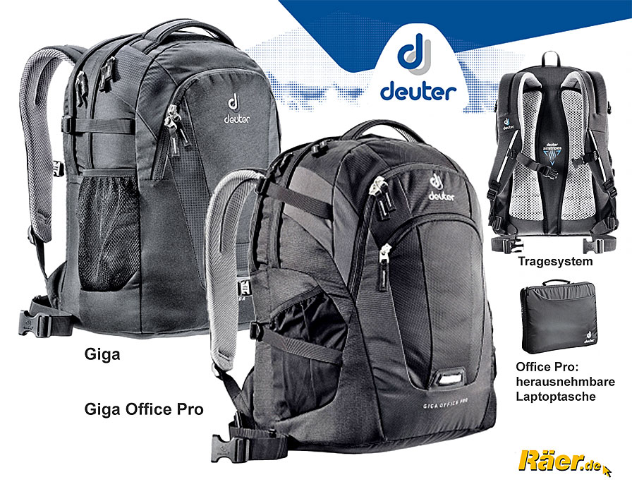 deuter giga laptop rucksack a bundeswehr shop r er hildesheim. Black Bedroom Furniture Sets. Home Design Ideas