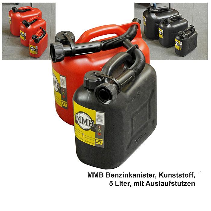 benzinkanister kunststoff 5 liter by mmb a bundeswehr shop r er hildesheim. Black Bedroom Furniture Sets. Home Design Ideas