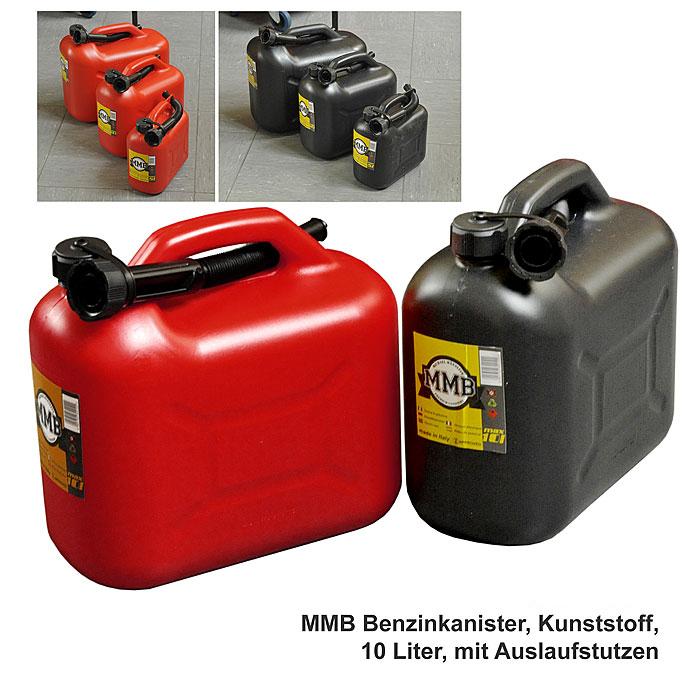benzinkanister kunststoff 10 liter by mmb a bundeswehr shop r er hildesheim. Black Bedroom Furniture Sets. Home Design Ideas