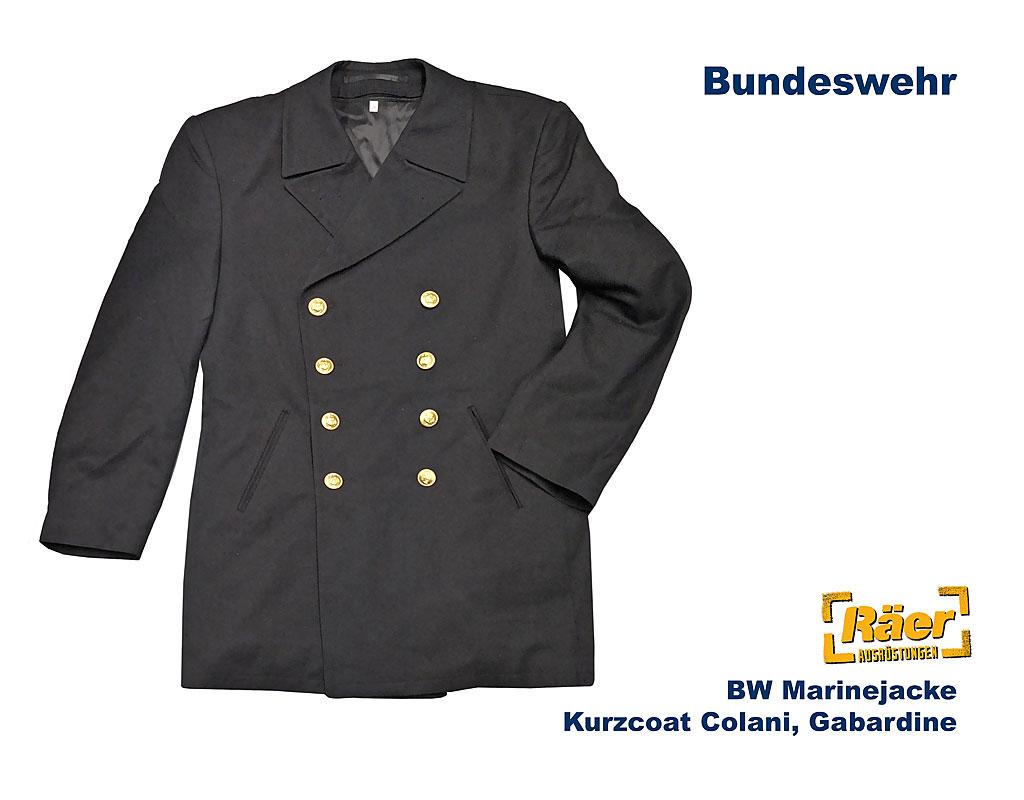 Seibertron Herren Wollmantel PEA Coat USN Marine Jacke Herren Navy Peacoat Mantel Winterjacke Übergangsjacke