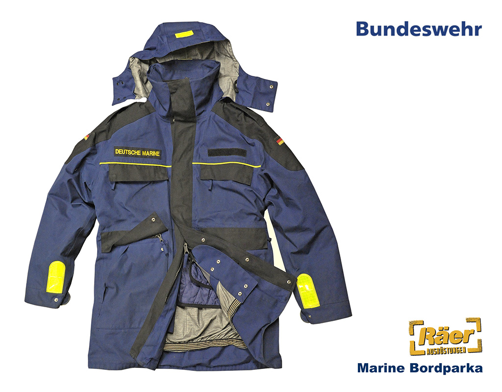 BW Marine Bordparka, Trilaminat B Bundeswehr Shop Räer