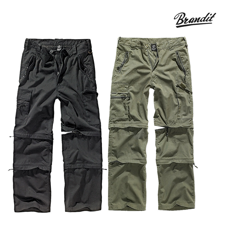 Brandit Zip-Off- Hose Savannah    A