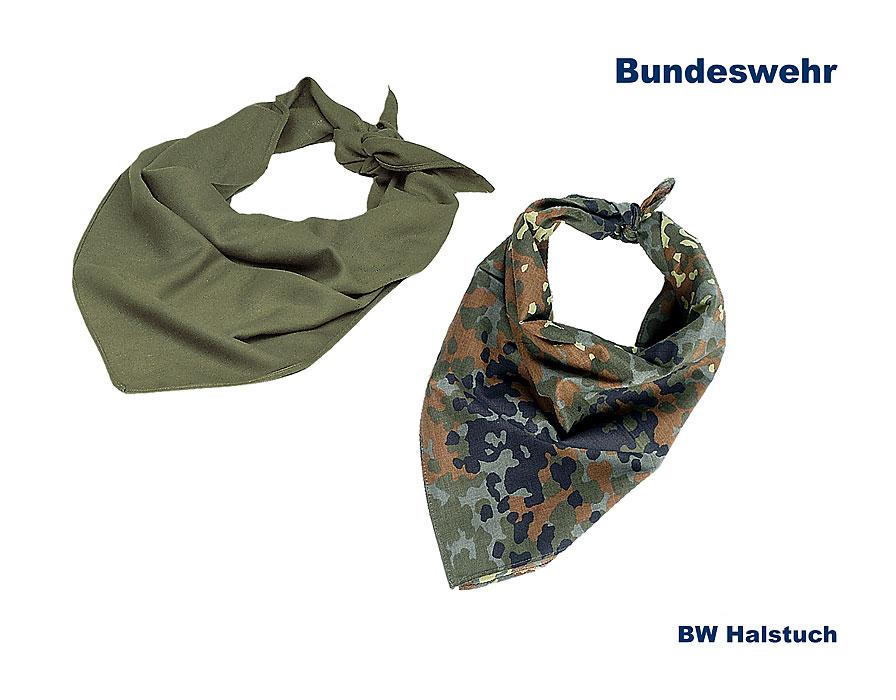 BW Dreieckstuch Bundeswehr Halstuch Camouflage Tarnung Bandana NEU flecktarn