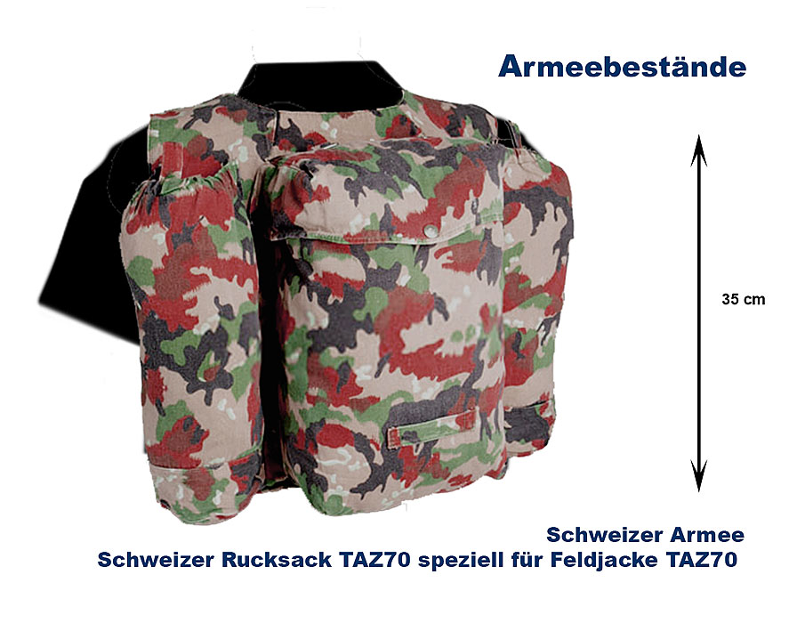 schweiz rucksack taz70 b bundeswehr shop r er hildesheim. Black Bedroom Furniture Sets. Home Design Ideas