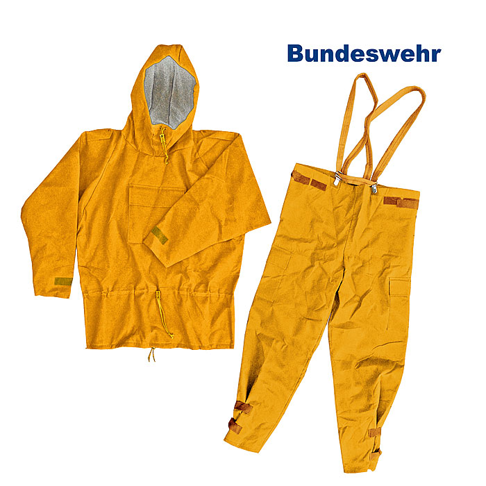 BW Thermoanzug (Overgarment), orange   A/B