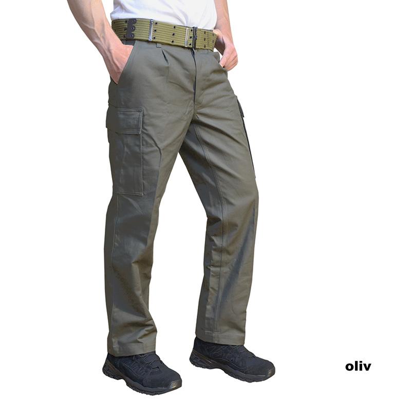 Original BW Camouflage pantalon bundeswehrhose Moleskine