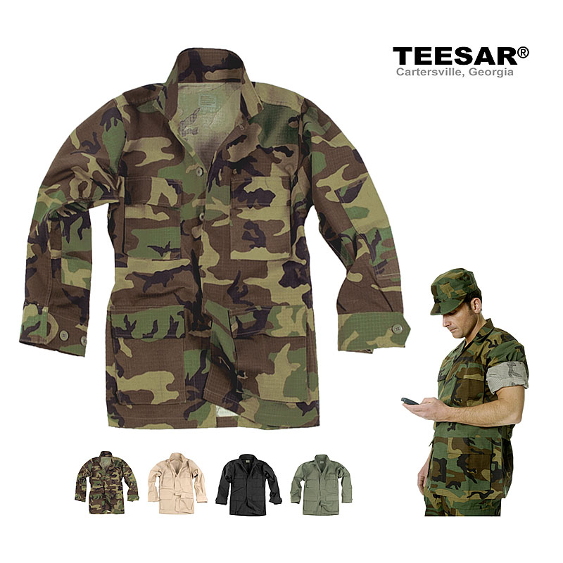 US BDU Feldjacke  Ripstop, 100% Cotton    A
