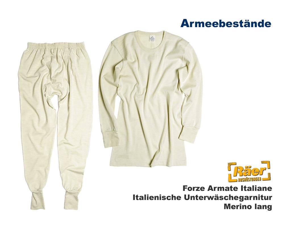 2c04998edb61fd Italienische Unterwäschegarnitur, Merino A/B Bundeswehr Shop Räer ...