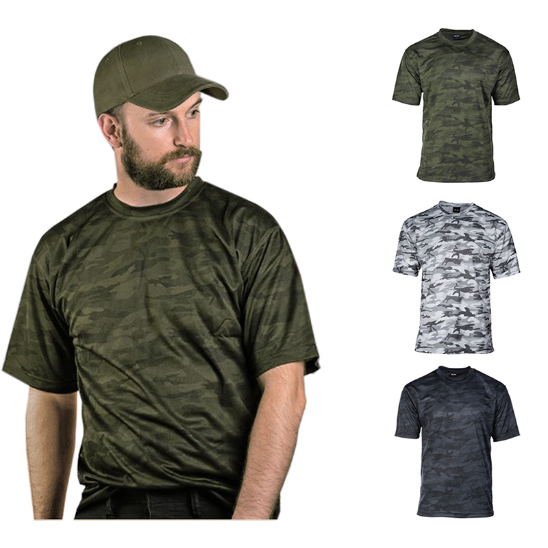 Mesh T-Shirt Quickdry, camouflage... A