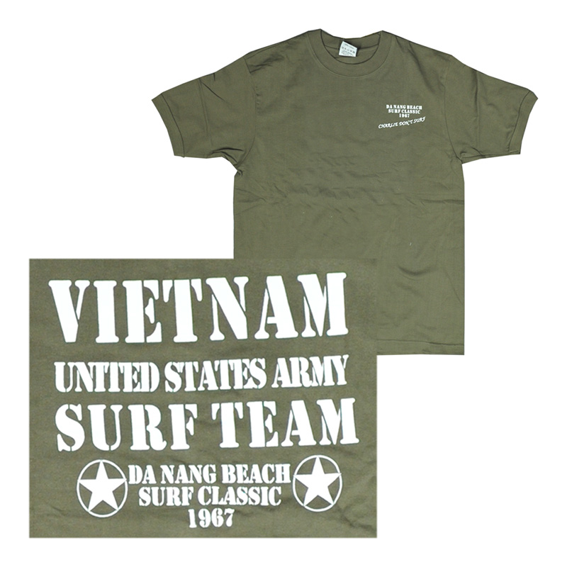 T-Shirt Vietnam Surf Team    A