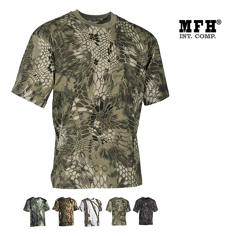 US T-Shirt 170 g/m², Forest/Snake    A