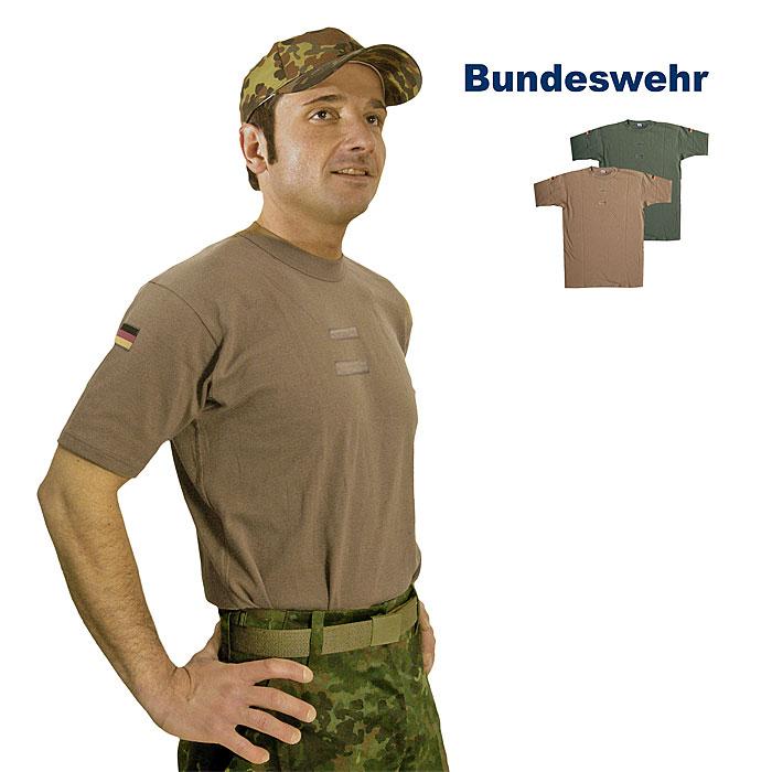 Bw Tropenhemd T Shirt Tl Depot A Bundeswehr Shop