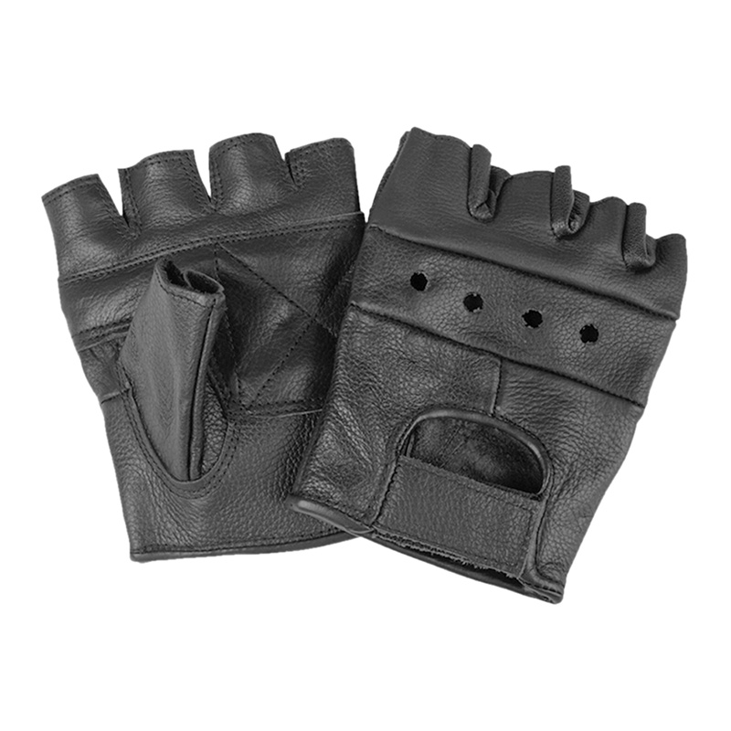 Biker Fingerlinge, Leder    A