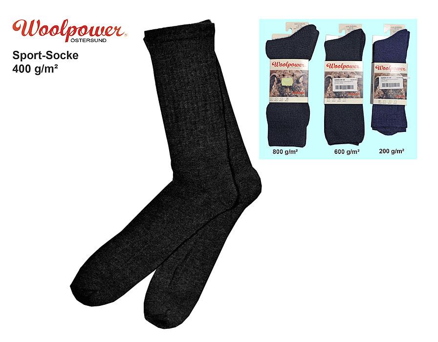 678d0ff0e8eecb Woolpower Sport-Socke, 400 g/m² A