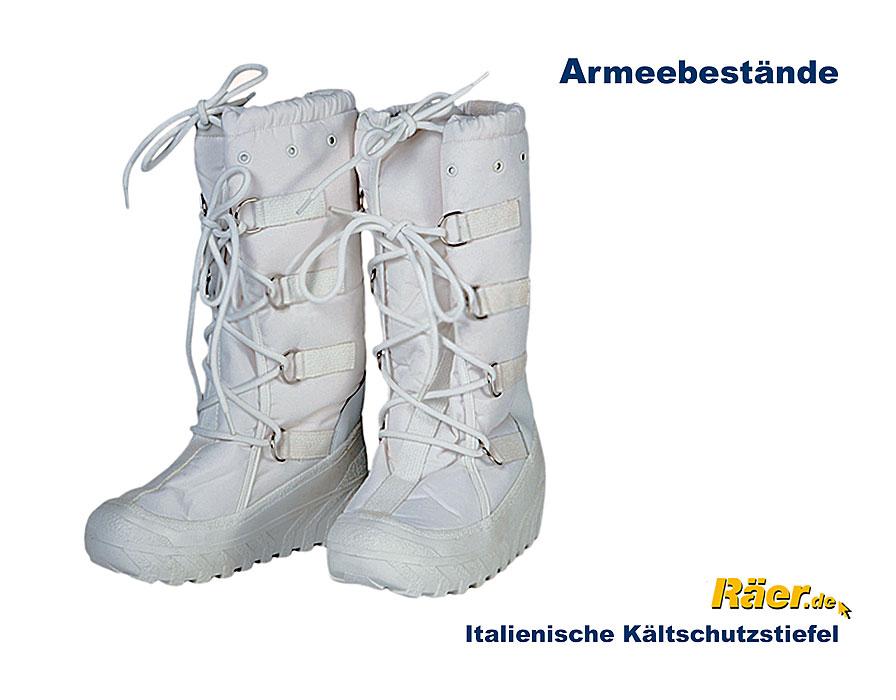 NEU Original Ital Armee Lederstiefel PISTON mit LAMMFELL BW Winterstiefel