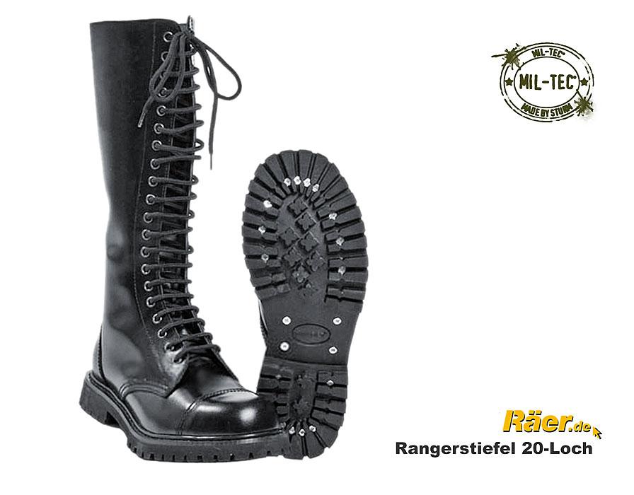 1d801f0e663ea3 RANGER Stiefel 20-Loch - Invader -Stahlkappe --x A Bundeswehr Shop ...