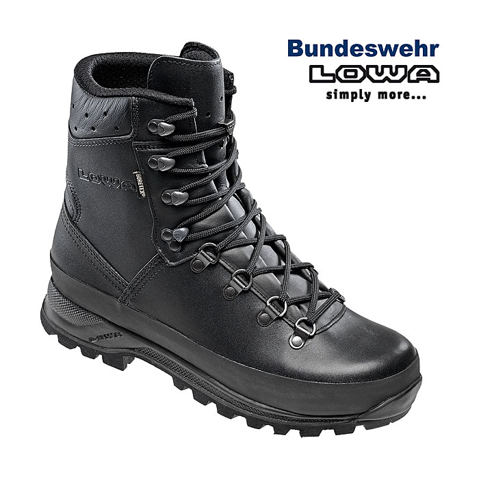 LOWA Mountain Boot GTX, Goretex, BW Bergschuh    A