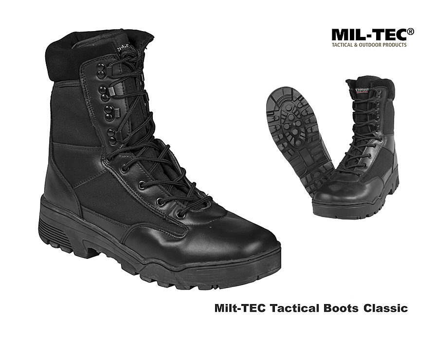 MIL TEC Tactical Stiefel LederCordura mit RV Der große