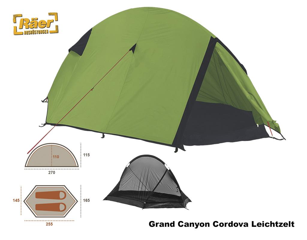 Grand Canyon Zelt 1 2 P. Cardova 1, oliv A Bundeswehr Shop