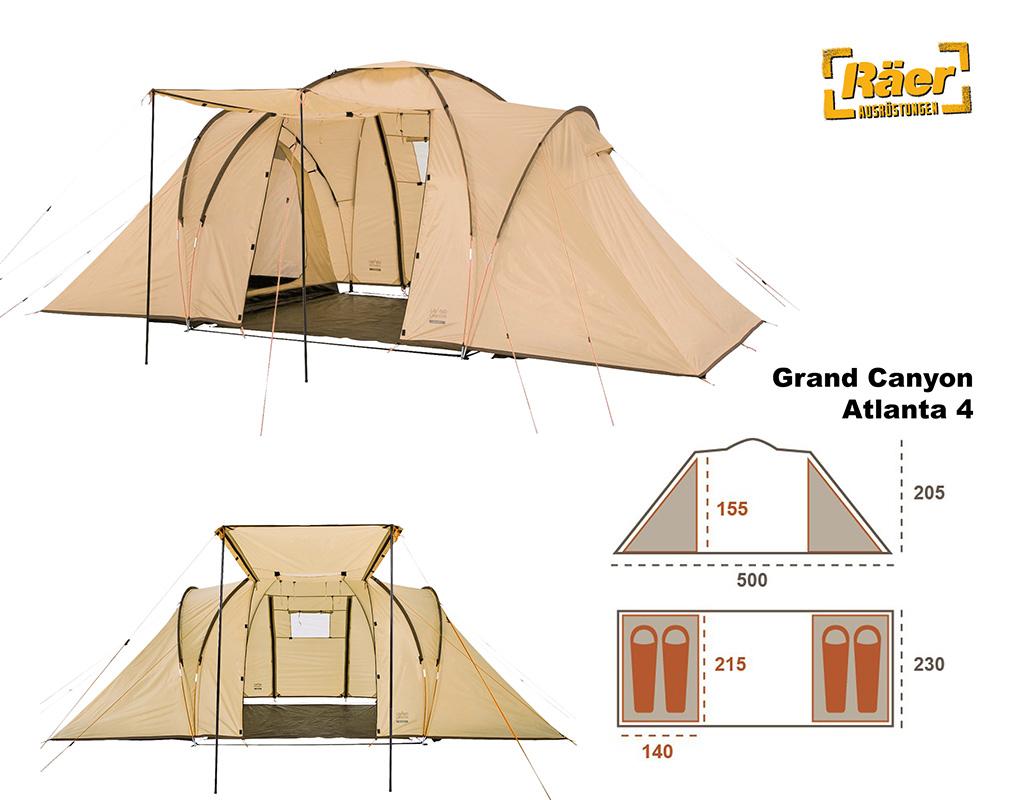Grand Canyon Atlanta 4 Zelte Shop | Bergsport, Outdoor