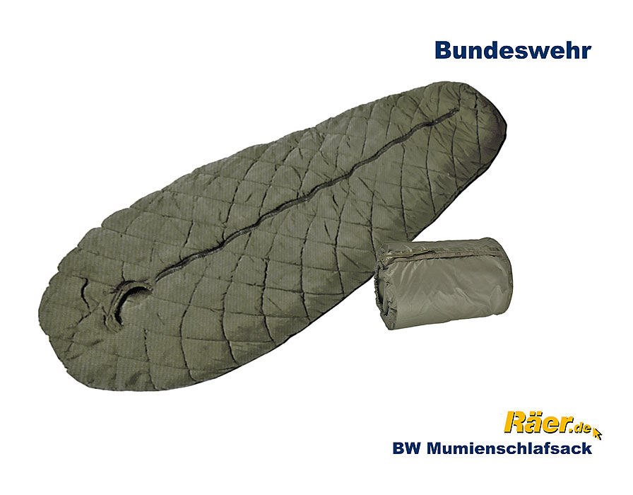 erstaunlicher Preis Großbritannien letzte auswahl von 2019 BW Schlafsack, Mumienform, Original A Bundeswehr Shop Räer ...