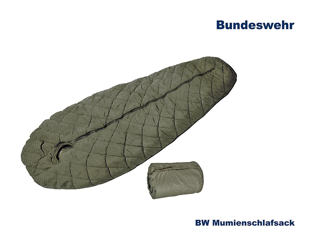 professionelle Website 100% Qualität neuesten Stil von 2019 BW Schlafsack, Mumienform, m. Packsack... B