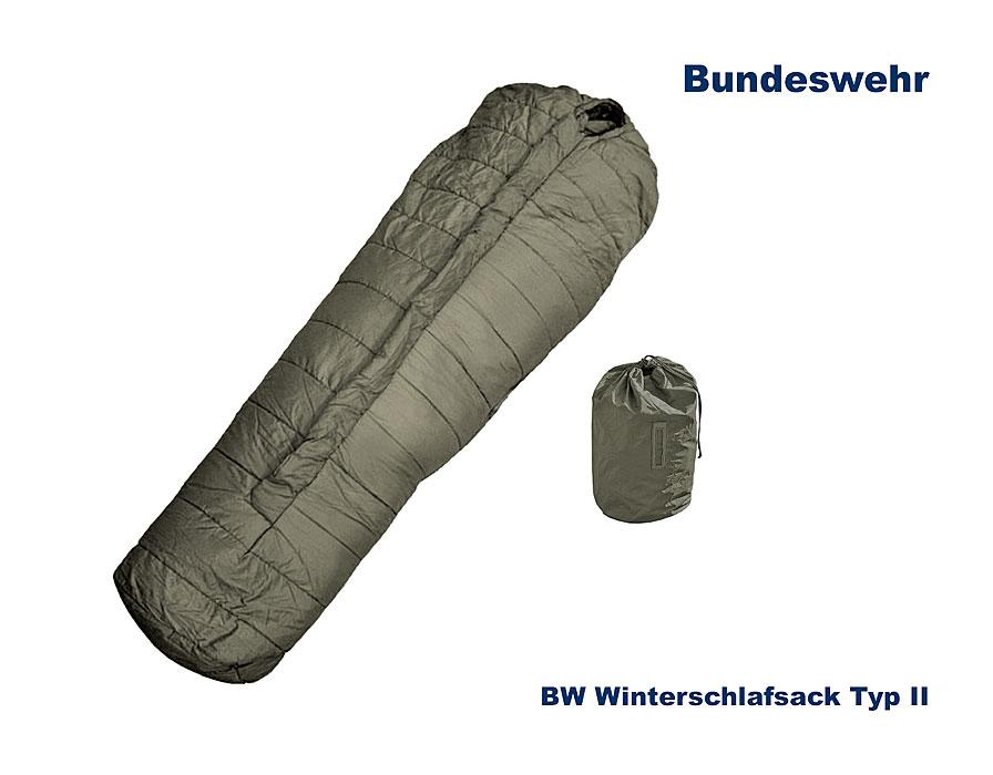billig werden echte Schuhe billiger BW Schlafsack Allgemein II, -35°C B