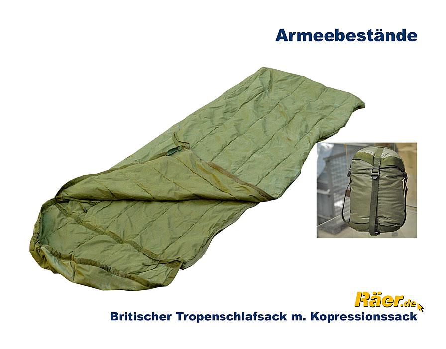 britischer tropenschlafsack jungle sack b bundeswehr shop r er hildesheim. Black Bedroom Furniture Sets. Home Design Ideas