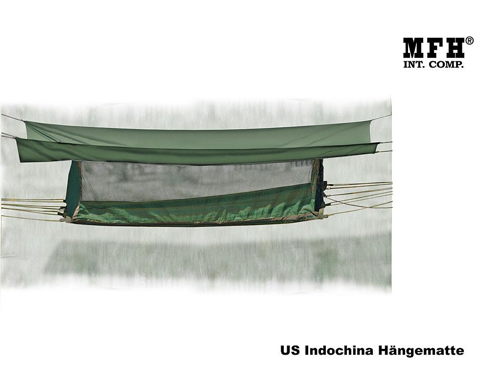 us indochina h ngematte mit dach a bundeswehr shop r er. Black Bedroom Furniture Sets. Home Design Ideas