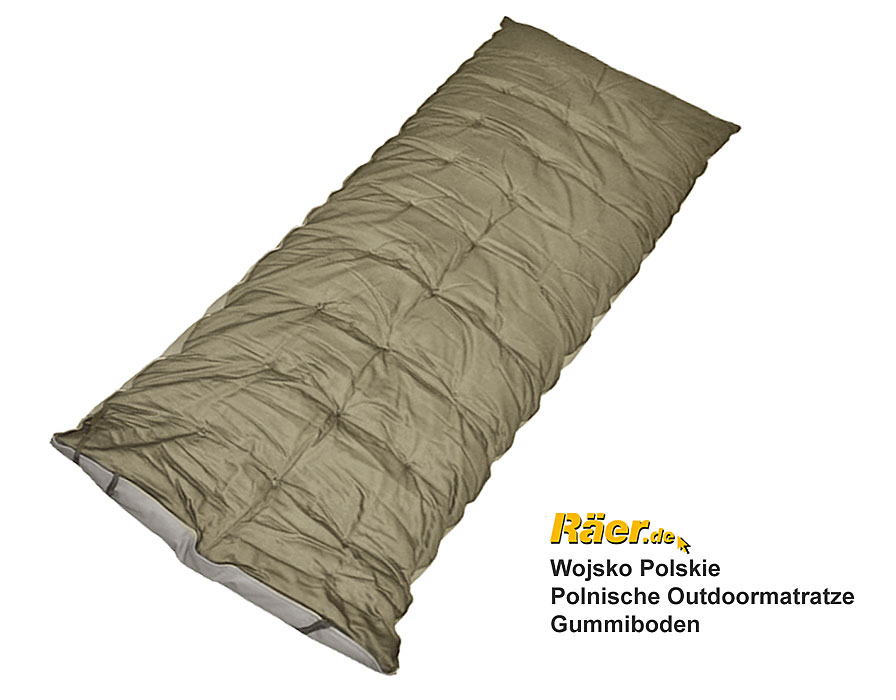 polnische outdoor matratze wasserdichter boden b bundeswehr shop r er hildesheim. Black Bedroom Furniture Sets. Home Design Ideas