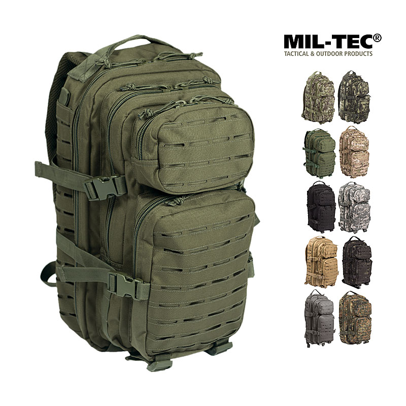 US Assault Pack 1 Laser Cut SM, 20 L Rucksack    A
