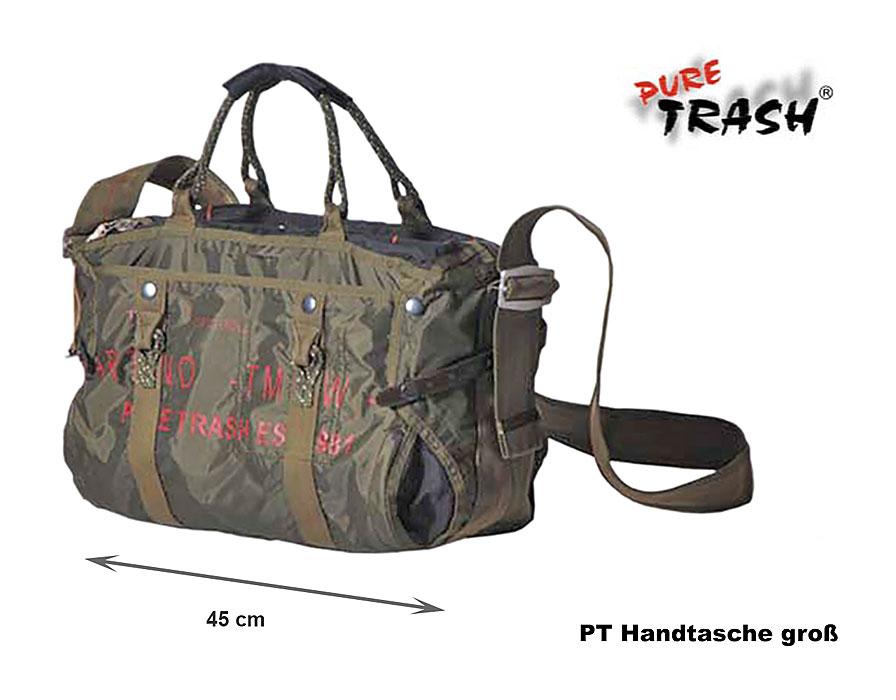 0fc4b9018d3d8 PT Handtasche groß - Pure Trash A Bundeswehr Shop Räer Hildesheim
