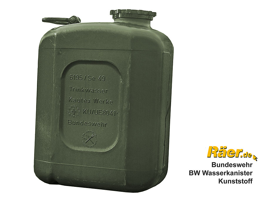 Großartig BW Wasserkanister 20L, Kunststoff A/B Bundeswehr Shop Räer Hildesheim RL81