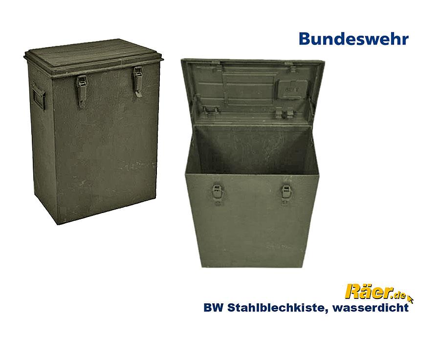 bw metallkiste stahlblech 56x32x75 b bundeswehr shop r er hildesheim. Black Bedroom Furniture Sets. Home Design Ideas