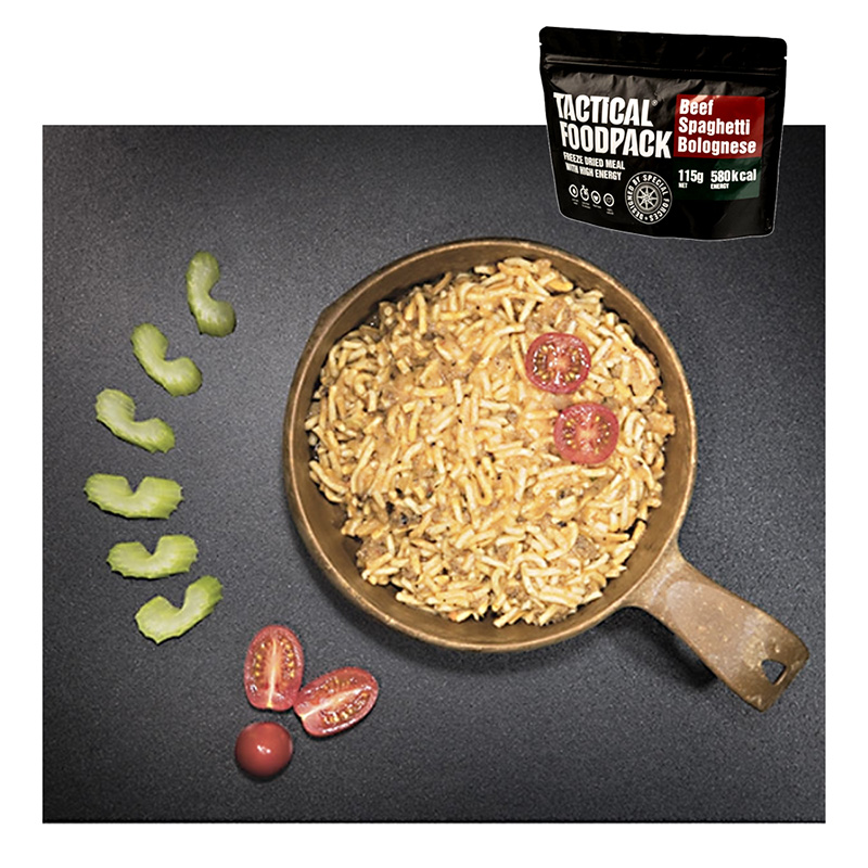 Tactical Foodpack Beef Spaghetti Bolognese    A