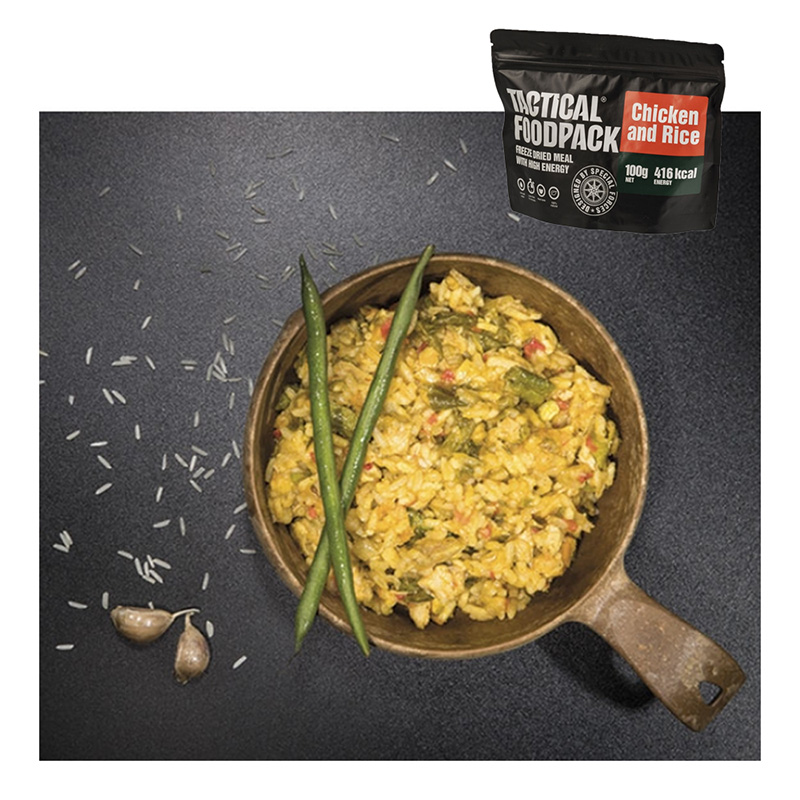 Tactical Foodpack Chicken and Rice    A