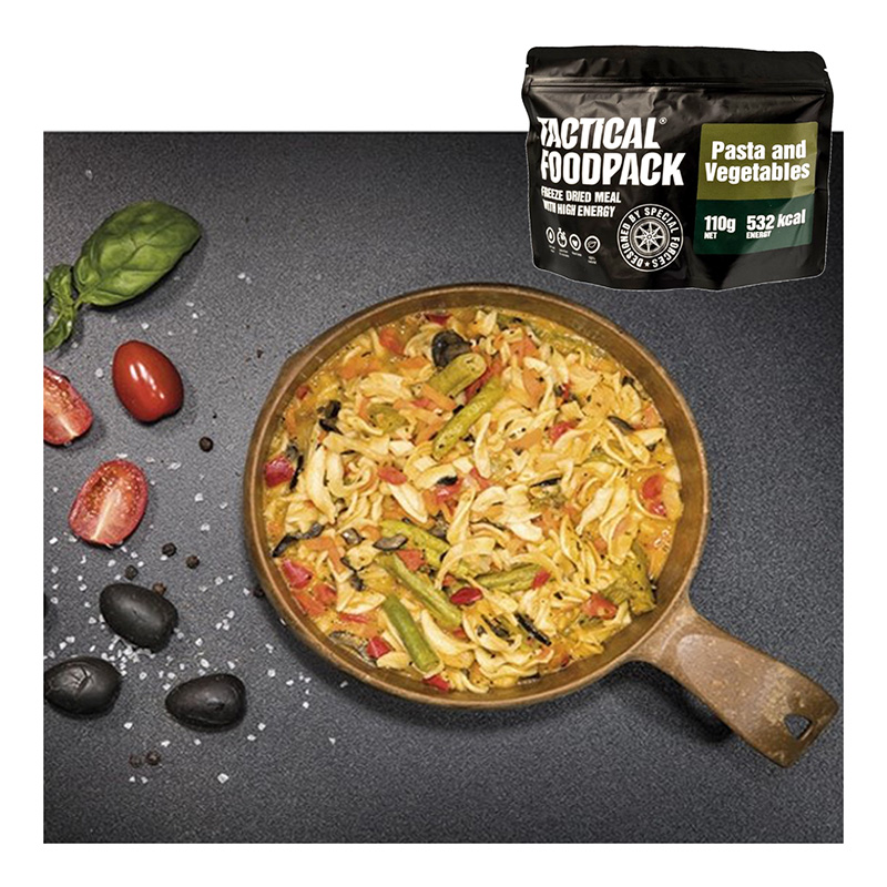 Tactical Foodpack Pasta and Vegetables    A