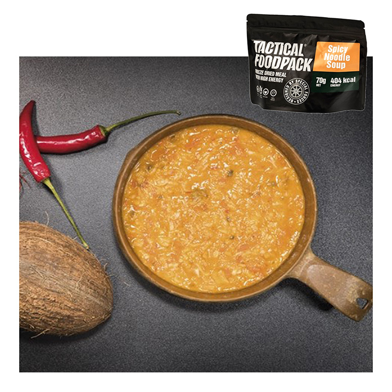 Tactical Foodpack Spicy Noodle Soup    A