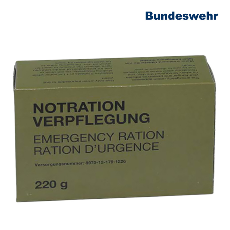 BW Notration Flugpersonal, 220g    A