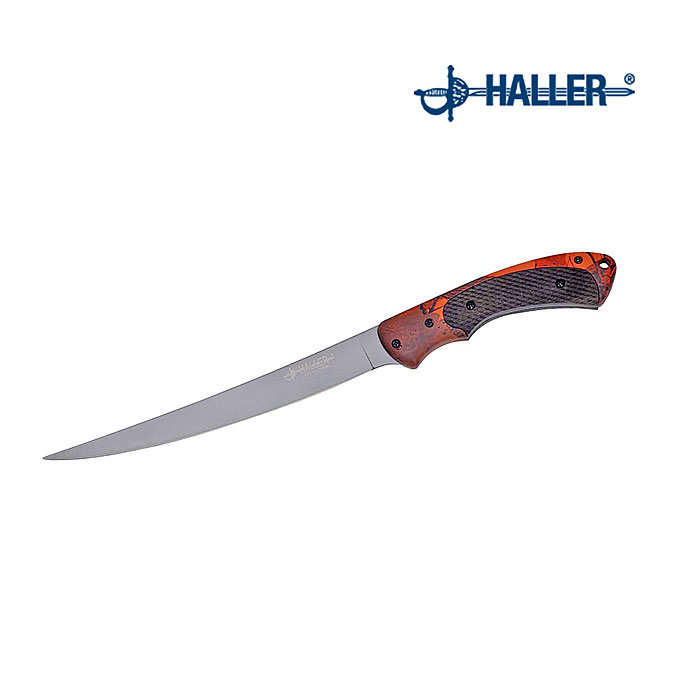 Haller Filetiermesser, Griff orange    A