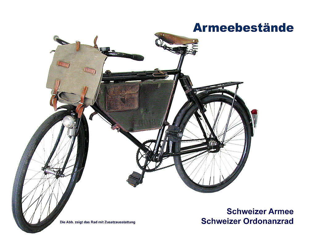schweiz armeefahrrad 05 armeevelo ab 1946 b bundeswehr shop r er hildesheim. Black Bedroom Furniture Sets. Home Design Ideas