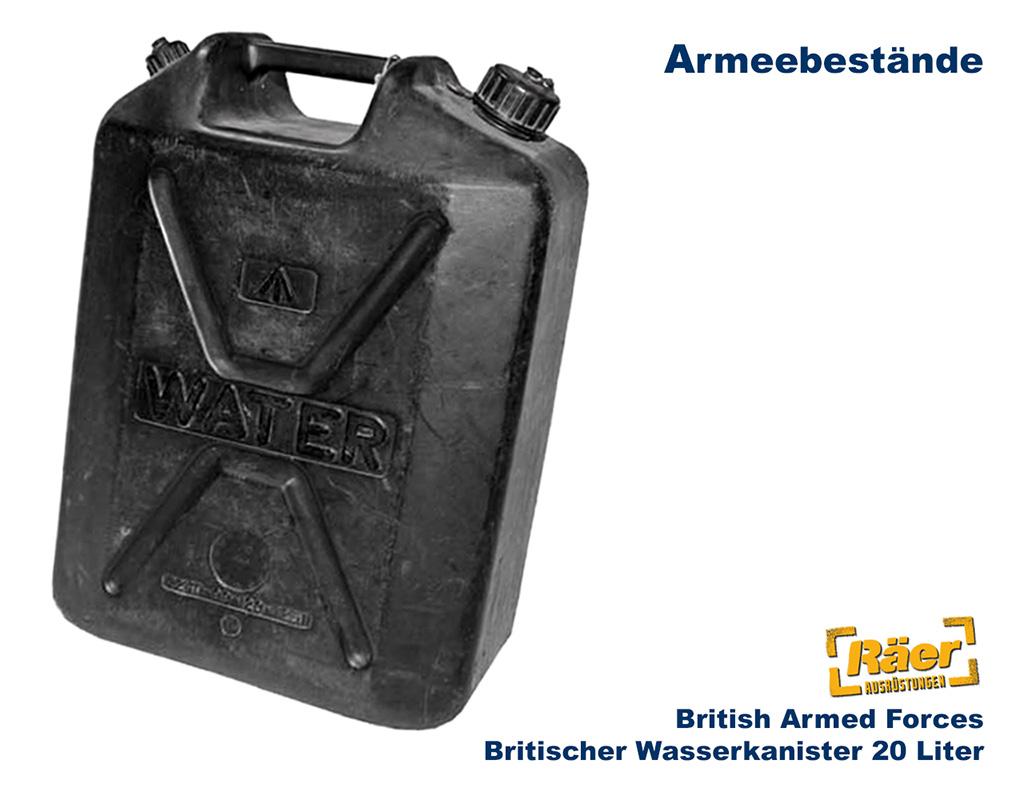 britischer wasserkanister 20l kunststoff b bundeswehr. Black Bedroom Furniture Sets. Home Design Ideas