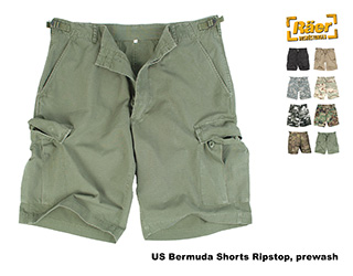US Bermudashorts Ripstop washed    A