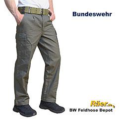 Bw Feldhose Oliv Bundeswehr Lagerbestand A Bundeswehr