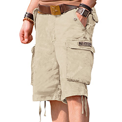 Mil-Tec Paratrooper Shorts washed, 100% Cotton   A