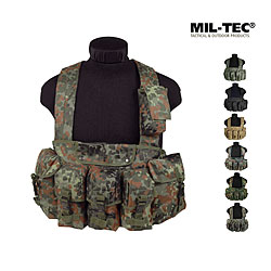 Mil-Tec Chest-Rig 6-Pocket, Einsatzweste    A