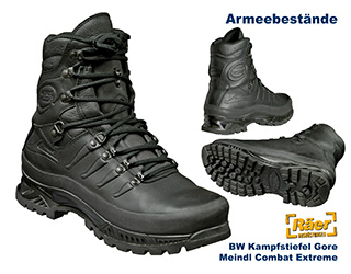 BW Kampfstiefel Gore, Meindl Combat Extreme    B