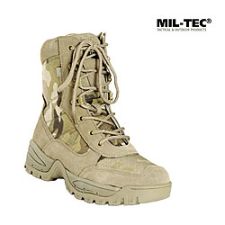 Mil-Tec Tactical Boots, m. RV, Multicam    A