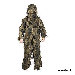 Ghillie Suit Basic Anti-Fire Tarnanzug 4 Tlg.. A